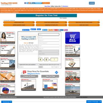 Dnsbank.testbag.com thumbnail