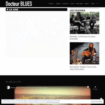 Docteurblues.fr thumbnail