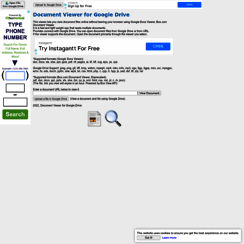 documentviewer herokuapp com at WI  Document Viewer for