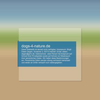 Dogs-4-nature.de thumbnail