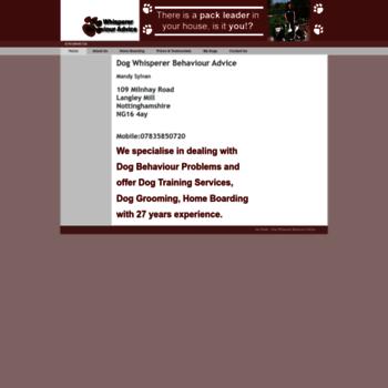 Dogwhispererbehaviouradvice.co.uk thumbnail