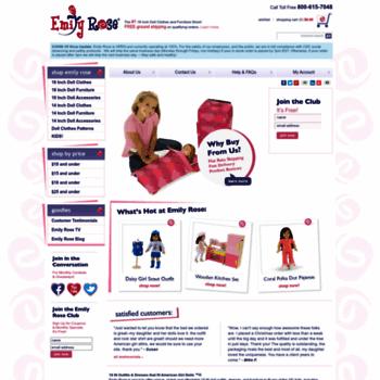 Dollsclothes-emilyrose.com thumbnail