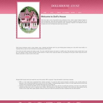 Dollshouse.co.nz thumbnail