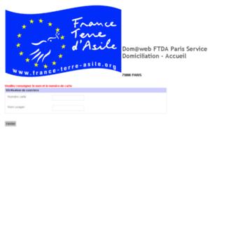 Dom Pada Sasa France Terre Asile Org At Wi Dom Web Ftda Paris