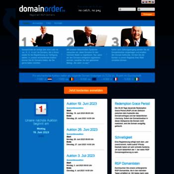 Domainorder.de thumbnail