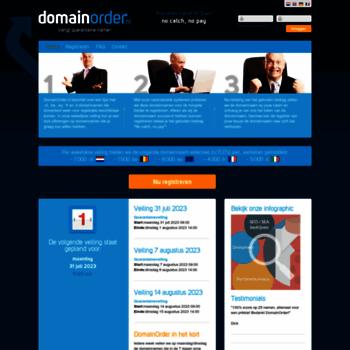 Domainorder.nl thumbnail