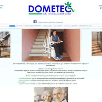 Dometec.it thumbnail