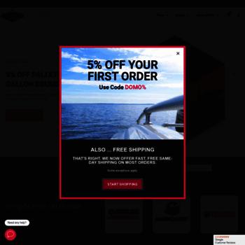 domo-online com at WI  Yamalube, Evinrude, Mercury, Discount