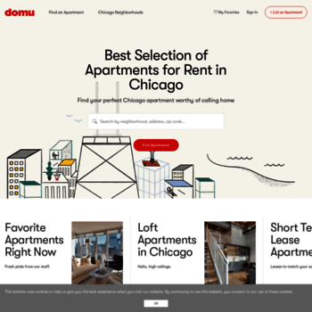 domu.com at WI. Chicago Apartments For Rent | Domu