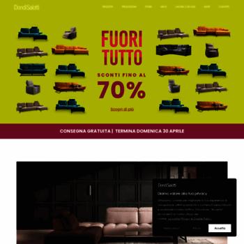 Europa Divani Design Srl.Filippo Tosi Salotti Europa Srl At Website Informer