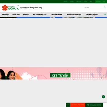 Donga.edu.vn thumbnail
