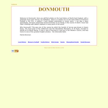 Donmouth.co.uk thumbnail