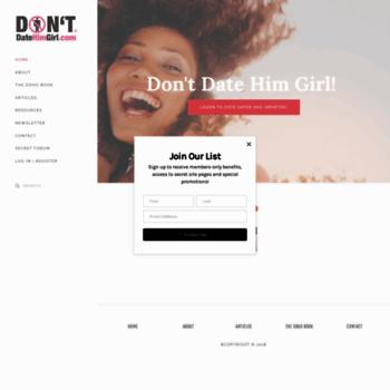 site Dontdatehimgirl