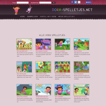Kleurplaten Dora Spelletjes.Dora Spelletjes Net At Wi Dora Spelletjes Speel Gratis De Leukste