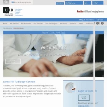 doshi mphrx com at WI  Provider Portal   Lenox Hill Radiology