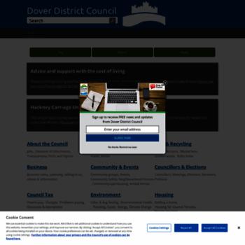 Dover.gov.uk thumbnail
