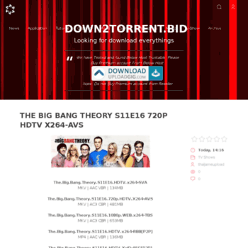 Down2torrent.bid thumbnail