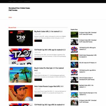 Downloadcricketgame.blogspot.com thumbnail