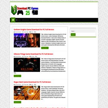 downloadpcgames25 com at WI  Download PC Games 25 - Download