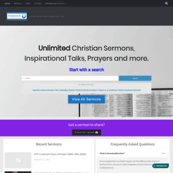 downloadsermon com at WI  Download Sermon - connecting The