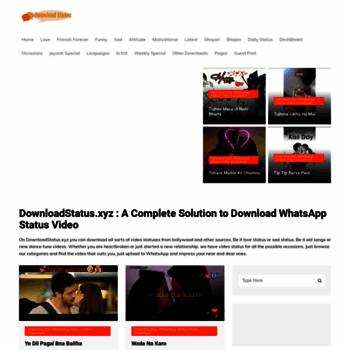 Downloadstatusxyz At Wi Download Whatsapp Status Video