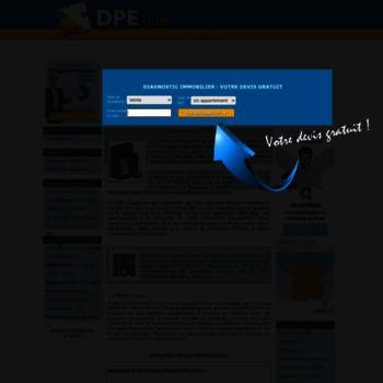 Dpe.info thumbnail