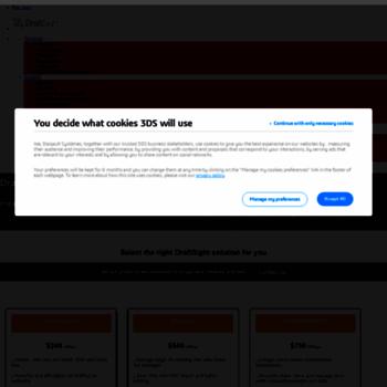 draftsightprofessional com at WI  DraftSight Professional