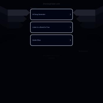 Веб сайт dranasghazal.com