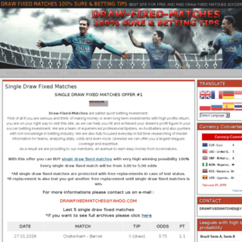 draw-fixed-matches com at Website Informer  Visit Draw Fixed