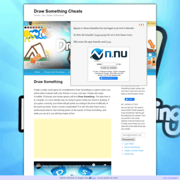 drawsomething nu at WI  Draw Something Cheats - Tips, Guides
