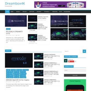 dreambox4k com at WI  Dreambox4K – Dreambox4K