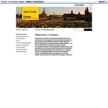 Dresden-salesguide.de thumbnail