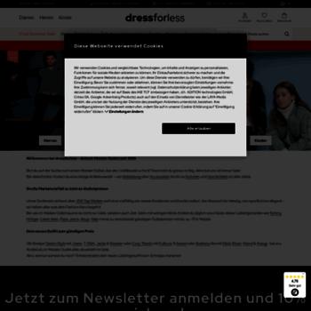 Dress-for-less.de thumbnail