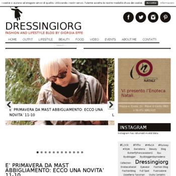 Dressingiorg.it thumbnail
