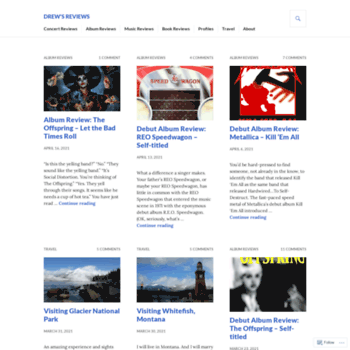 Drewsreviews.org thumbnail