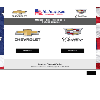American Chevrolet Muncie >> Driveamerican Com At Wi American Chevrolet Cadillac Is An