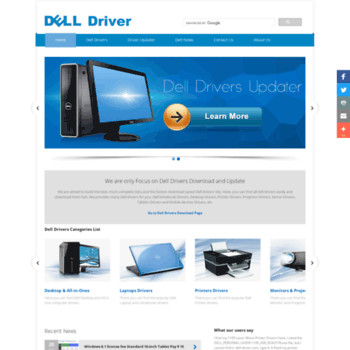 driverget com at WI  Dell Drivers Download – Update Dell PCs