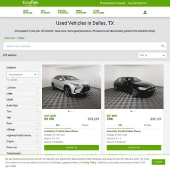 Driver Select Dallas >> Driverselect Com At Wi Used Car Dealership In Dallas Tx