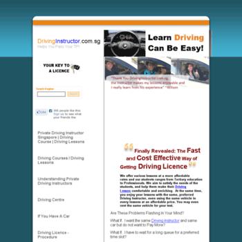 Drivinginstructor.com.sg thumbnail