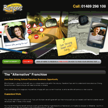 Drivinginstructorfranchise.co.uk thumbnail