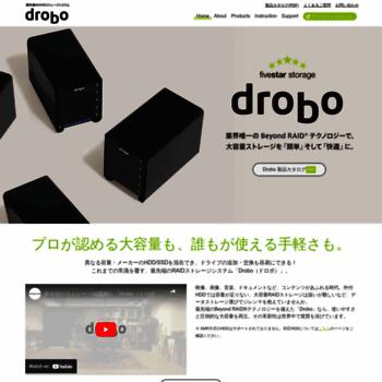 Drobo-jp.com thumbnail