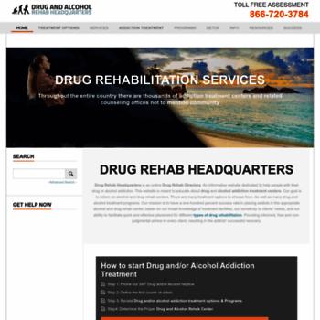 Drug-rehab-headquarters.com thumbnail
