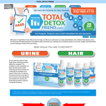 drugtestfriend com at WI  Detox your body, hair, urine