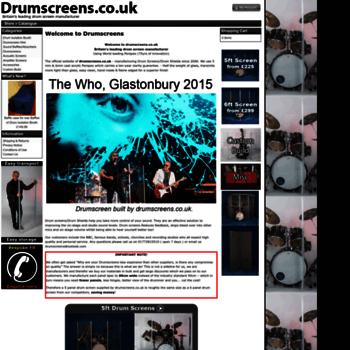 Drumscreens.co.uk thumbnail