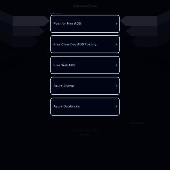 dubicenter com at WI  Post Free Classified Ads In Dubai - Dubi
