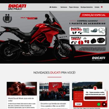 Ducatimooca.com.br thumbnail
