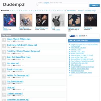 Dudemp3.net thumbnail