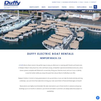 Duffyofnewportbeach Com At Wi Duffy Electric Boat Rentals