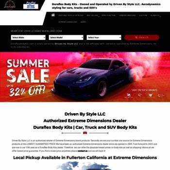 duraflexbodykits com at WI  Duraflex Body Kits : Authorized Extreme