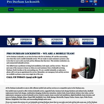 Durhamlocksmith.net thumbnail